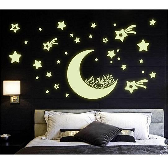75466f95ee9 Seinakleeps öösel helendavad tähed, erinevad - Something.ee